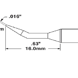 Metcal STTC-040/STTC-140/STTC-840烙tie头