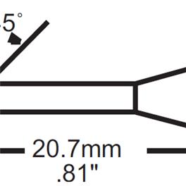 Metcal SFV-DRH420AR烙铁头