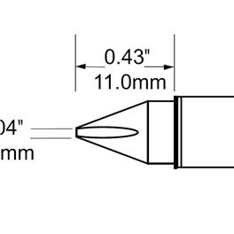 Metcal SFV-CH10/STV-CH10/SCV-CH10烙铁头