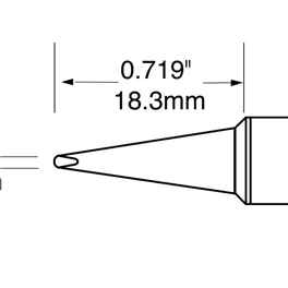 Metcal SFV-CH10A/STV-CH10A/SCV-CH10A烙铁头