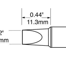 Metcal SFV-CH50A/STV-CH50A/SCV-CH50A烙铁头