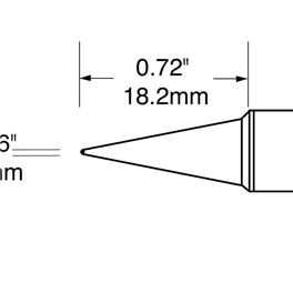 Metcal SFV-CN05A/STV-CN05A/SCV-CN05A烙铁头