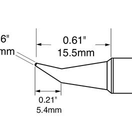 Metcal SFV-CNB04A烙铁头