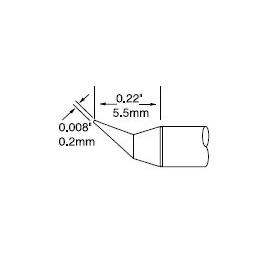Metcal UFTC-7CNB02 烙铁头