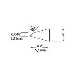 Metcal UFTC-7DRH412焊接烙铁头