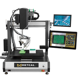 METCAL  可yan证焊点自动焊接机器人