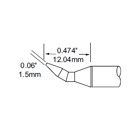 METCAL   SFP-CHB15凿型laotie头