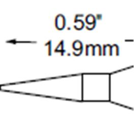 METCAL   SFP-CNL04圆锥型烙铁头