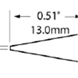 METCAL   SFP-CNL06圆锥型烙铁头